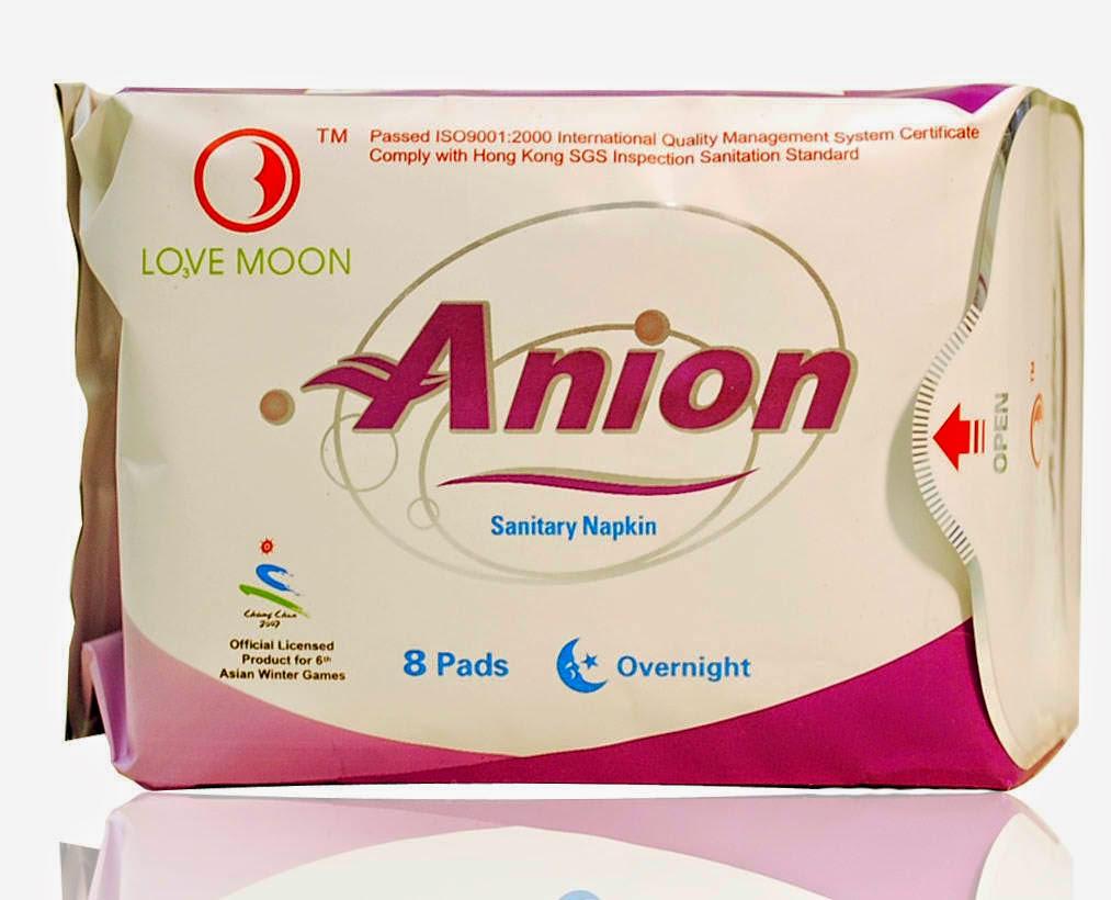 Anion napkin
