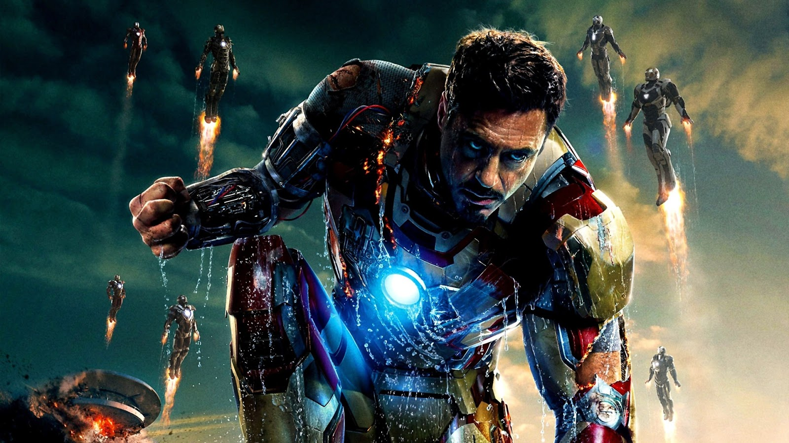 Tony Stark HD Iron Man Wallpaper