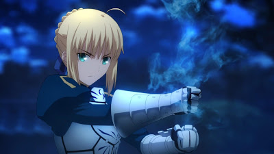 3. Saber (Fate/Stay Night: UBW)