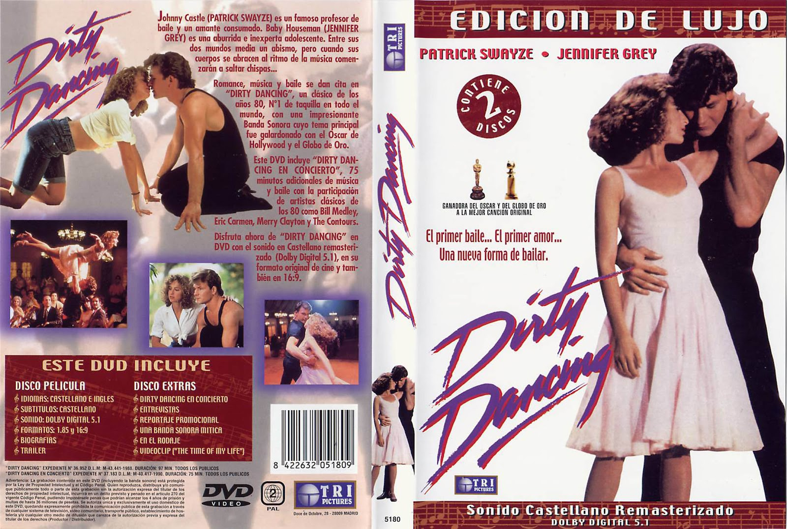 Dirty Dancing ( 1987 ) Castellano + subtítulos DescargaCineClasico.Net
