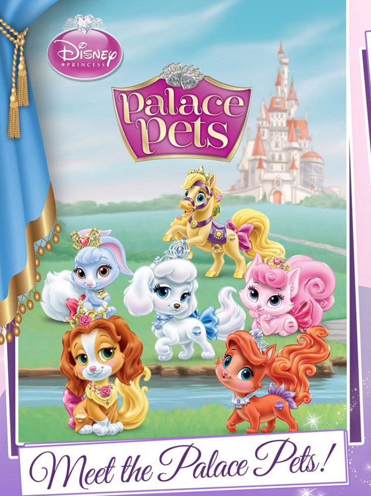 Disney Princess Palace Pets App Game