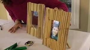 porta-retratos con cañas de bambú-eltallerdejazmin