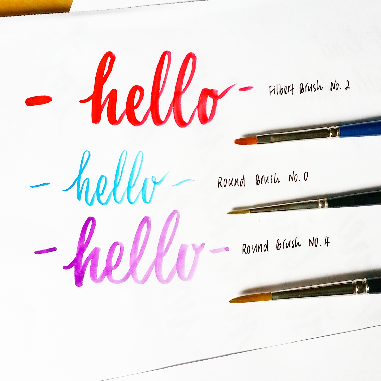 crafting with jennifer the low down on brush lettering