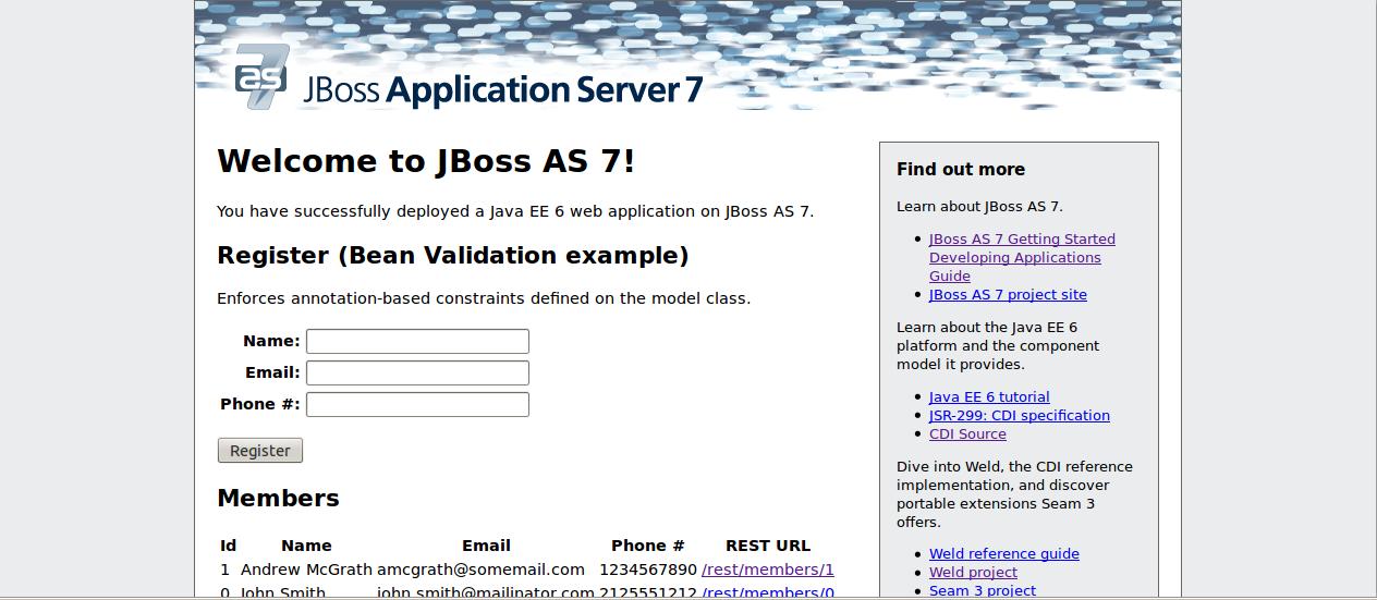 Jboss App Server