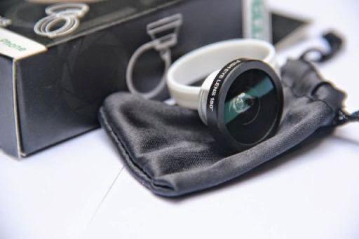 Foto Lensa Fisheye Clip Bundar
