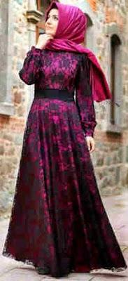Busana Muslim Wanita Gemuk Dari Berbagai Model Terbaru 2015