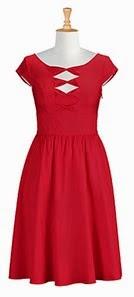 Cotton Poplin Bow Front Dress