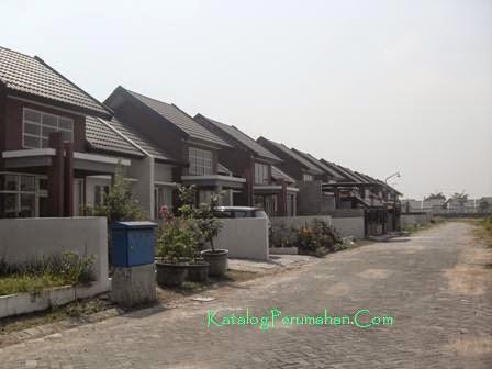 Block di cluster Mandiri Residence