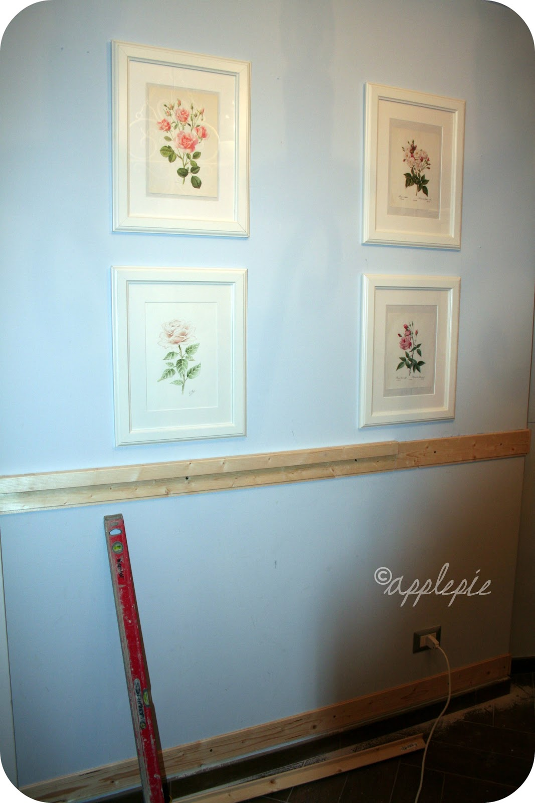 Apple Pie And Shabby Style: The Dining Room Again.. #2C2014 1067 1600 Colore Pareti Sala Da Pranzo