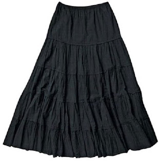 Black Gypsy Skirt
