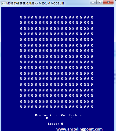 Minesweeper Game in C++