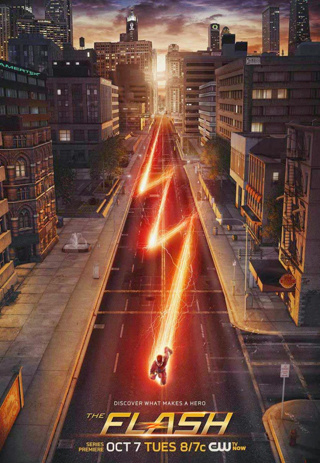 """The Flash"" season 1 poster"