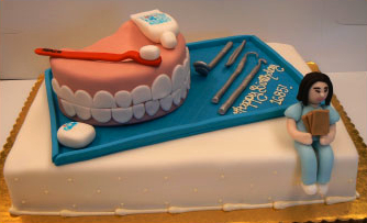 Birthday Cake For A Dentist