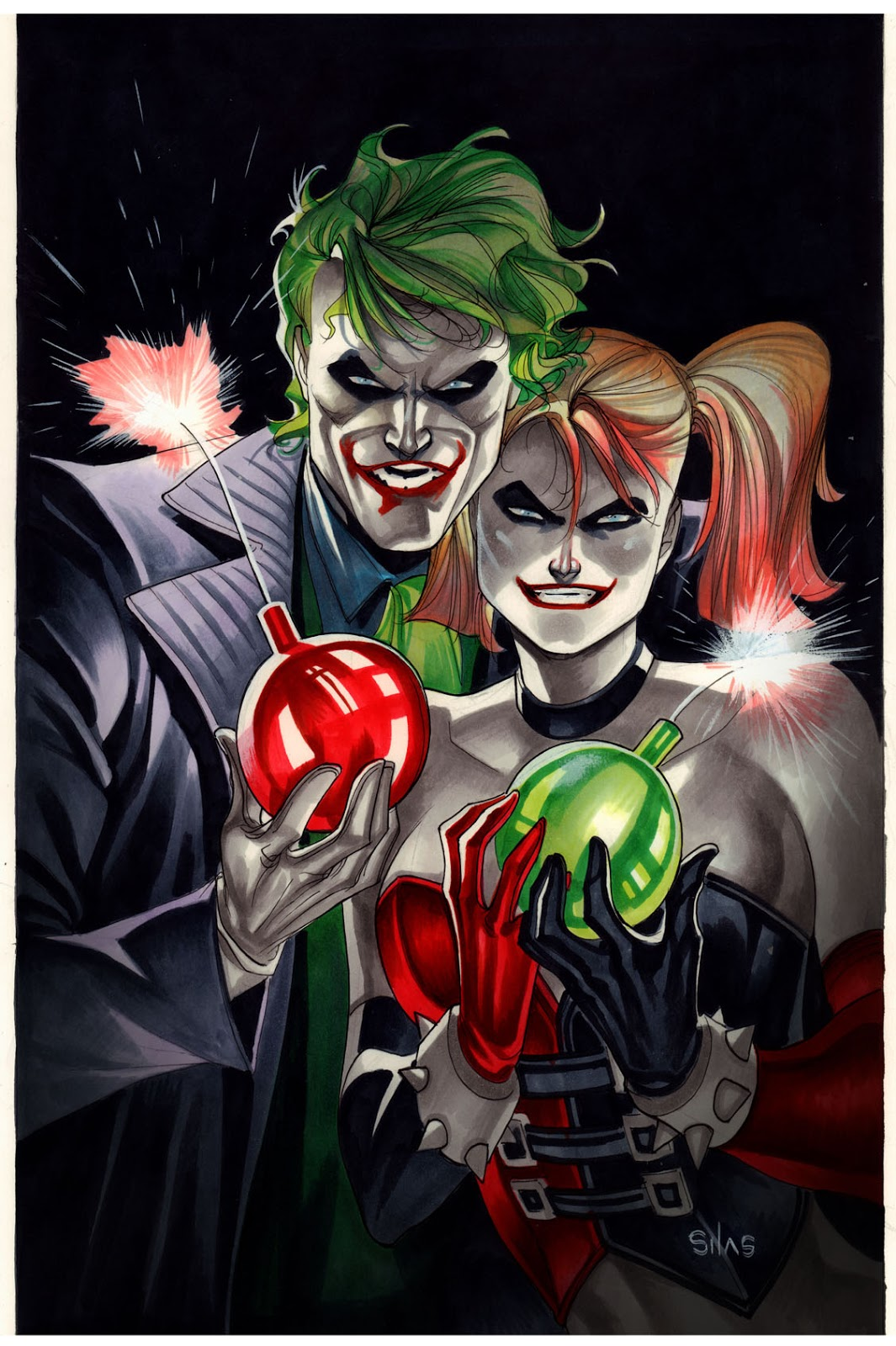 JOKER, HARLEY AND \