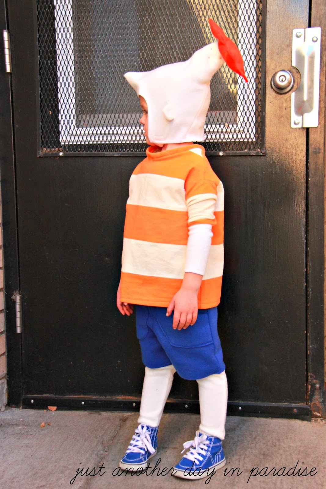 so there ya have it a warm version of a phineas costume - Phineas Halloween Costume