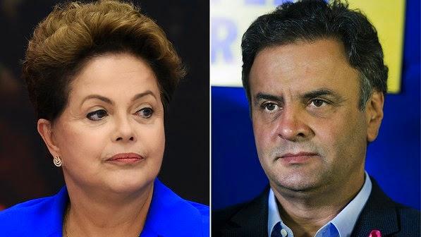 Dilma e Aécio fazem hoje o 1º debate do segundo turno