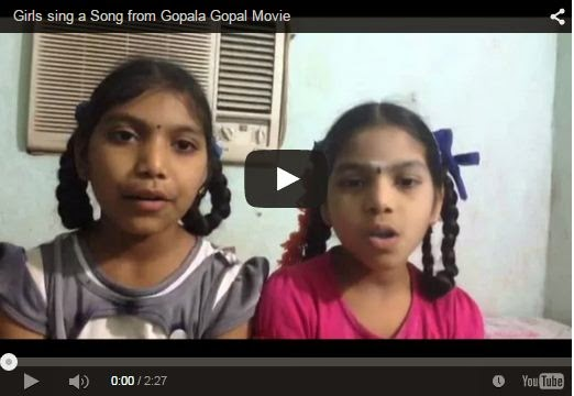 Girls sing a Song from Gopala Gopal Very Funny | Must Watch And Share