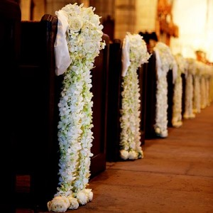 Wedding plan cute chairs wedding in church when you planning a wedding and set your decor with pews or an outdoor wedding with rows of chairs in the church you can still decorate them by making junglespirit Images