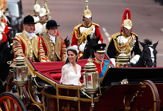 William and Kate geared up for a repeat of the spectacular celebration that erupted on the streets of London
