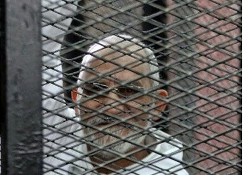 ماذا قال المرشد العام لجماعة الإخوان المسلمين بعد سماعه الحكم عليه بالإعدام للمرة الثالثة