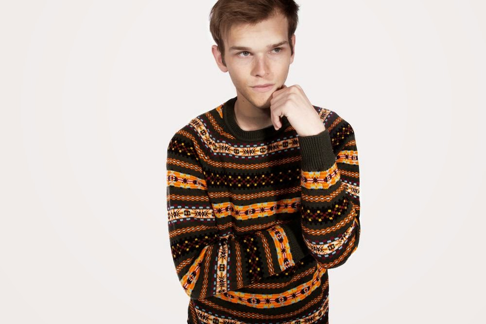 Hillflint: Merino Fair Isle Crew Preppy Sweater