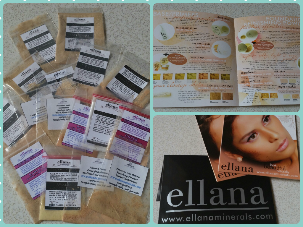 Sand Under My Feet: Free Mineral Make Up Samples from Ellana