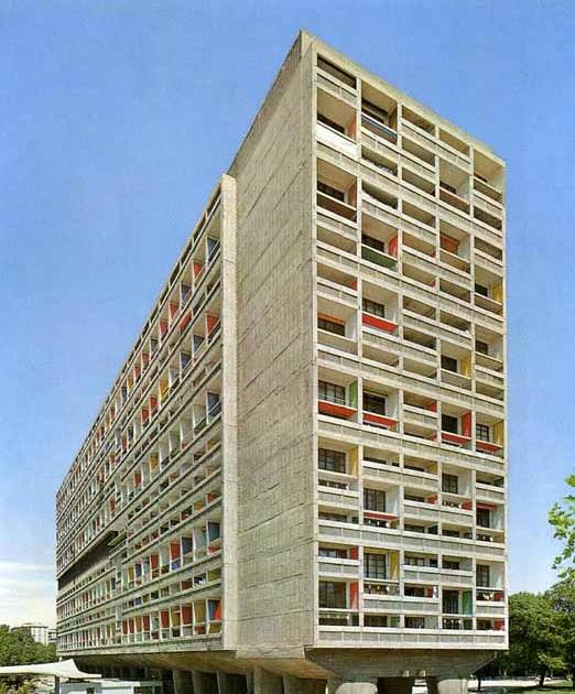 arquitectura y urbanismo unidad habitacional de marsella le corbusier. Black Bedroom Furniture Sets. Home Design Ideas