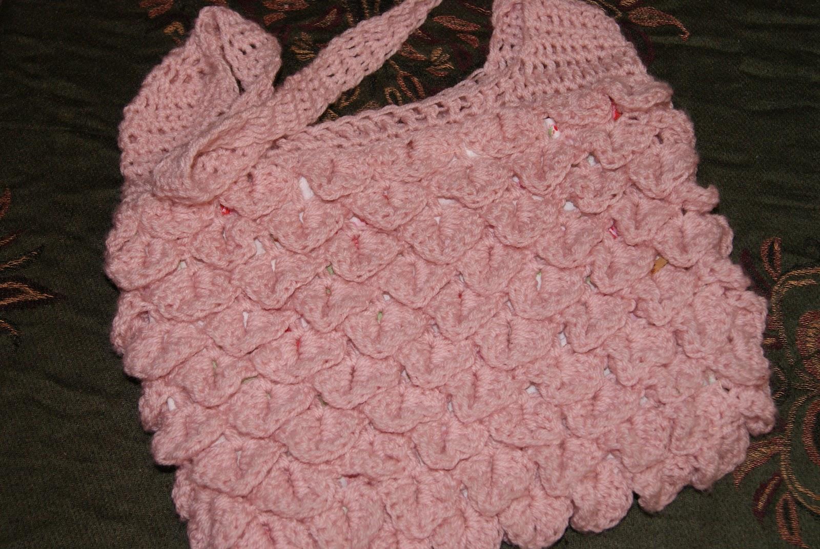 Free Crochet Pattern Crocodile Stitch Bag : Reks Art Corner: Crochet Crocodile Stitch Bag