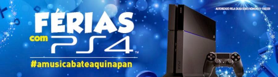 """Concurso  """"Férias com PS4""""  - Grave um vídeo concorra !"""