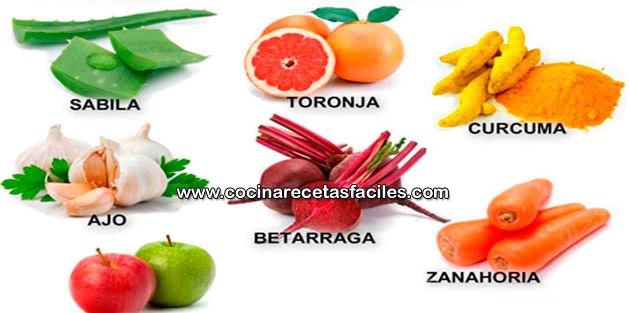 7 alimentos que limpian el higado cocina recetas f ciles - Alimentos que curan el higado ...