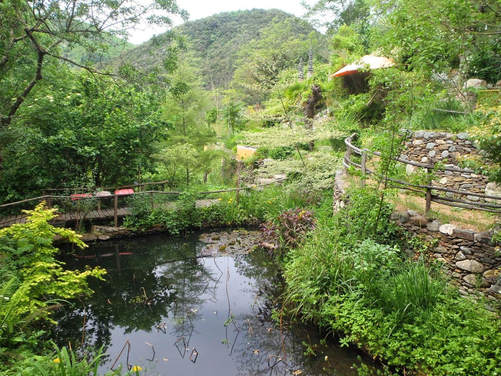 H rault insolite le jardin des sambucs for Les jardins de lee