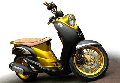 Modif Yamaha Mio Fino