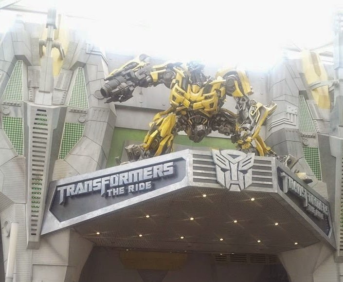Transformer 4D in Universal Studios Singapore
