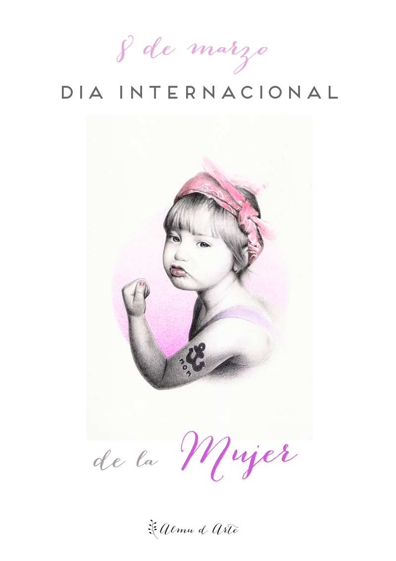 Cartel día internacional de la mujer