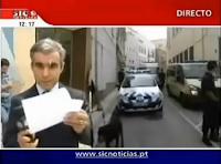Reportero recibe un regalito