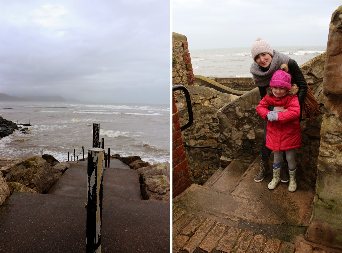 winter, at the seaside, lyme regis, todaymyway.com