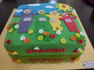 Teletubbies Birthday Cake Designs Teletubbies Cake