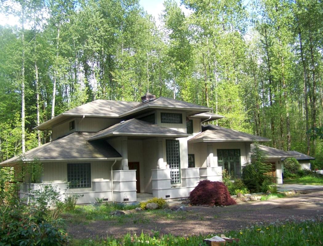 Di qua e di la frank lloyd wright architettura organica for Frank lloyd wright piani casa della prateria