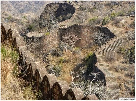 GAMBAR Tembok Besar Seperti China Di INDIA
