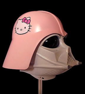 Hello Kitty Star Wars' Darth Vader mask