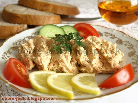 Syrová nátierka s tuniakom - recepty