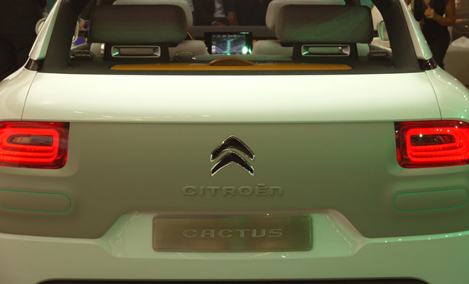 Citroen Cactus concept rear view