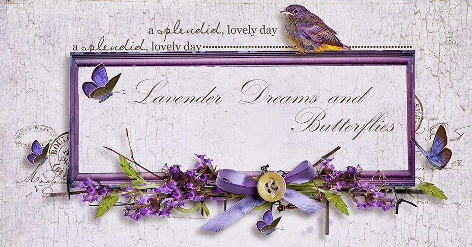 Lavender Dreams and Butterflies