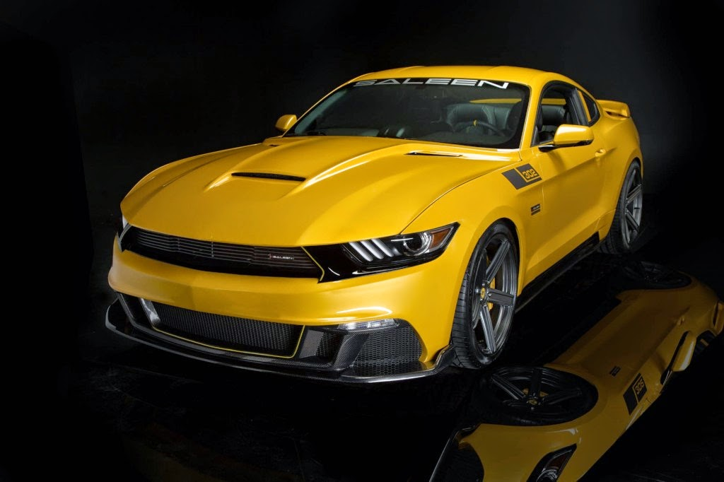 Saleen Answers The Challenge Made By The HellCat With The 730 Horsepower Ford Mustang