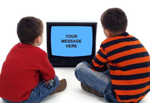 Control tv watching children