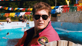 David Hasselhoff en Piraña 3DD
