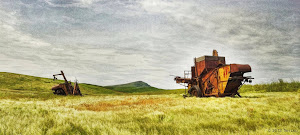 Retired Combines  - Palouse