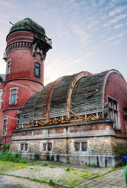 Green Pear Diaries, lugares abandonados, Observatorio de Cointe, Lieja, Liège, Bélgica