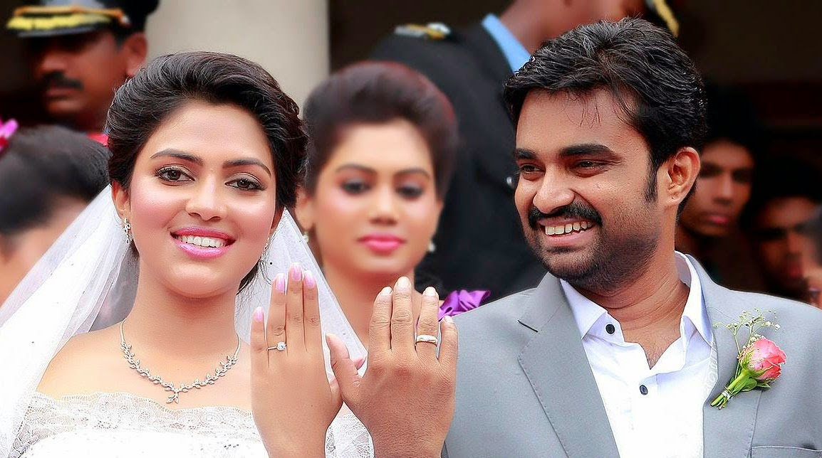 Amala Paul engagement photo