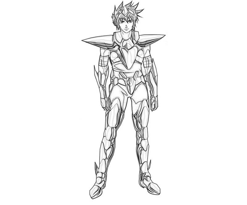 pegasus-koga-armor-coloring-pages
